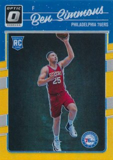 2016-17 PANINI DONRUSS OPTIC RC GOLD Prizm Ben Simmons 【10枚限定】Rookie Star RS16様