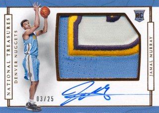 2016-17 PANINI NATIONAL TREASURES RC Patch Auto Jamal Murray 【25枚限定】Rookie Star RS60様