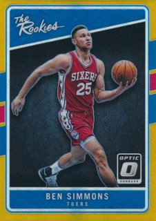 2016-17 PANINI DONRUSS OPTIC Rookies Gold Prizm Ben Simmons 【10枚限定】Rookie Star RS64様