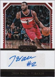 16/17 PANINI GRAND RESERVE RESERVE SIGNATURES John Wall【25枚限定】/MATCHUP FF 様