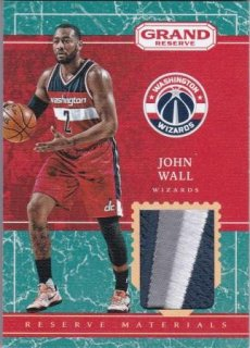 16/17 PANINI GRAND RESERVE RESERVE MATERIALS PATCH John Wall/MATCHUP V 様