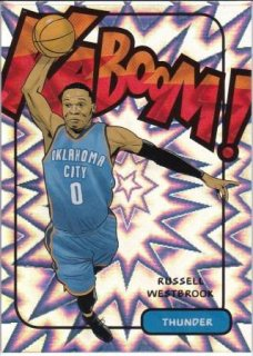 16/17 PANINI EXCALIBUR KABOOM Russell Westbrook/MATCHUP GP 様