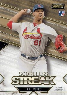 2017 TOPPS STADIUM CLUB Scoreless Streak Gold Alex Reyes / MINT立川店 なんでや?様