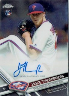 2017 TOPPS CHROME Autograph Card Jake Thompson / MINT立川店 トミタロウ様