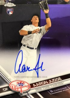 2017 TOPPS CHROME Rookie Autographs Aaron Judge / MINT新宿店 ぐりとぐら様