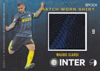 2016/17 EPOCH/AUTHENTICA INTER Match Worn Shirts MAURO ICARDI【28枚限定】/ ミント横浜店 MATHY様