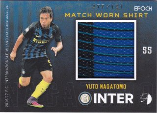 2016/17 EPOCH/AUTHENTICA INTER Match Worn Shirts YUTO NAGATOMO【131枚限定】/ ミント横浜店 MATHY様