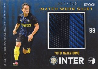 2016/17 EPOCH AUTHENTICA INTER Match Worn Shirts Yuto Nagatomo 【129枚限定】 MINT梅田店 スベーレ様