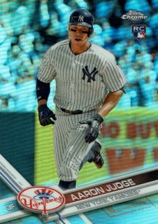 2017 Topps Chrome RC SP Variation Refractor Aaron Judge /MINT渋谷 Bellingerが欲しかった様