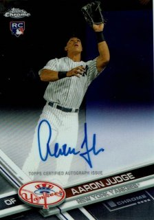2017 TOPPS CHROME Rookie Autographs Aaron Judge / MINT新宿店 ヤマダ様