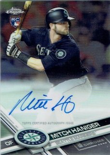 2017 TOPPS CHROME Rookie Autograph Mitch Haniger / MINT立川店 幕張大好き様