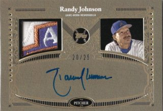 TOPPS2017 TOPPS SERIES 2 Autograph Patch Randy Johnson 【25枚限定】 神田店 TallTree様