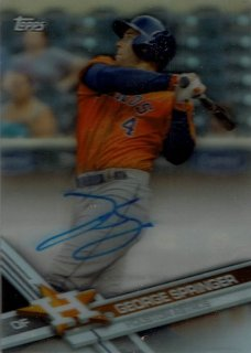 2017 TOPPS CLEARLY AUTHENTIC Clearly Authentic Autographs George Springer / MINT新宿店 シモン様