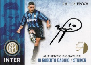 EPOCH/AUTHENTICA 2016/17 INTER Authentic Signature Roberto Baggio 【16枚限定】 神田店 kassi様
