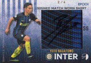 2016/17 EPOCH/AUTHENTICA INTER Signed Match Worn Shirts Yuto Nagatomo【4枚限定】/ MINT池袋店 KANBE様