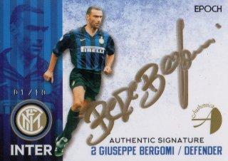 2016/17 EPOCH/AUTHENTICA INTER Authentic Signatures Giuseppe Bergomi 【01/10 1st NO.】/ MINT池袋店 KANBE様