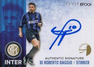 2016/17 EPOCH/AUTHENTICA INTER Authentic Signatures Roberto Baggio【17枚限定】/ MINT池袋店 KANBE様