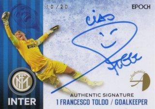 2016/17 EPOCH/AUTHENTICA INTER Authentic Signatures Francesco Toldo 【20枚限定】 / MINT池袋店 KANBE様