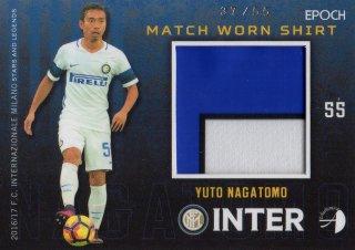 2016/17 EPOCH/AUTHENTICA INTER Match Worn Shirts Yuto Nagatomo 【55枚限定】/ MINT池袋店 KANBE様