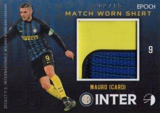 2016/17 EPOCH/AUTHENTICA INTER Match Worn Shirts Mauro Icardi 【15枚限定】 / MINT池袋店 KANBE様