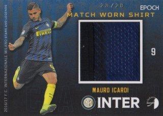 2016/17 EPOCH/AUTHENTICA INTER Match Worn Shirts Mauro Icardi 【28枚限定】 / MINT池袋店 KANBE様
