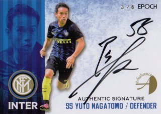 2016/17 EPOCH/AUTHENTICA INTER Authentic Signatures Yuto Nagatomo【6枚限定】/ MINT池袋店 カイト様