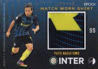 2016/17 EPOCH/AUTHENTICA INTER Match Worn Shirts Yuto Nagatomo 【12枚限定】/ MINT池袋店 カイト様