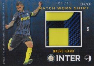 2016/17 EPOCH/AUTHENTICA INTER Match Worn Shirts Mauro Icardi 【01/13 1st NO.】 / MINT池袋店 カイト様