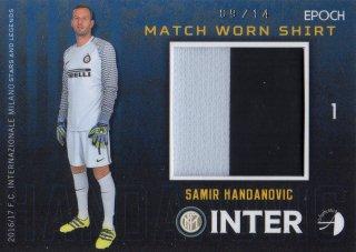2016/17 EPOCH/AUTHENTICA INTER Match Worn Shirts Samir Handanovic 【14枚限定】/ MINT池袋店 カイト様