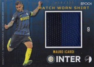 2016/17 EPOCH/AUTHENTICA INTER Match Worn Shirts Mauro Icardi 【100枚限定】 / MINT池袋店 六角様