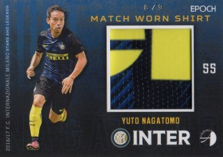 2016/17 EPOCH/AUTHENTICA INTER Match Worn Shirts Yuto Nagatomo 【9枚限定】/ MINT池袋店 六角様