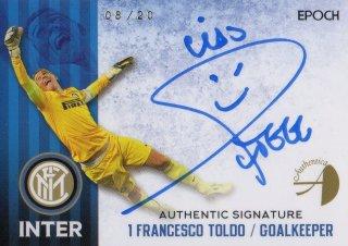 2016/17 EPOCH/AUTHENTICA INTER Authentic Signatures Francesco Toldo 【20枚限定】 / MINT池袋店 六角様