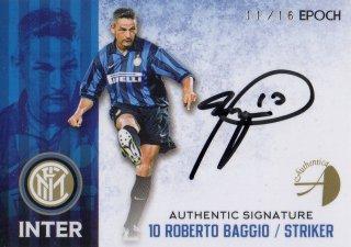 2016/17 EPOCH/AUTHENTICA INTER Authentic Signatures Roberto Baggio【16枚限定】/ MINT池袋店 六角様