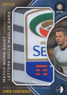 2016/17 EPOCH/AUTHENTICA INTER Match Worn Shirts Samir Handanovic【2枚限定】/ MINT池袋店 テラワキ様