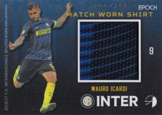 2016/17 EPOCH/AUTHENTICA INTER Match Worn Shirts Mauro Icardi 【100枚限定】 / MINT池袋店 テラワキ様