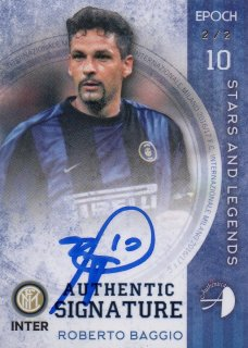 2016/17 EPOCH/AUTHENTICA INTER Authentic Signatures Roberto Baggio【2枚限定】/ MINT池袋店 ツッツゴー様