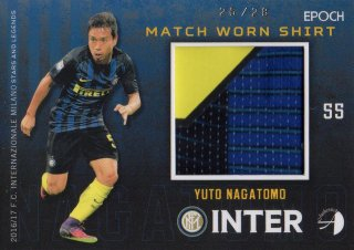 2016/17 EPOCH/AUTHENTICA INTER Match Worn Shirts Yuto Nagatomo 【28枚限定】/ MINT池袋店 ツッツゴー様