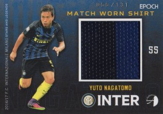 2016/17 EPOCH/AUTHENTICA INTER Match Worn Shirts Yuto Nagatomo 【131枚限定】/ MINT池袋店 はざま様