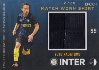2016/17 EPOCH/AUTHENTICA INTER Match Worn Shirts Yuto Nagatomo 【28枚限定】/ MINT池袋店 はざま様