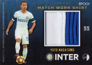 2016/17 EPOCH/AUTHENTICA INTER Match Worn Shirts Yuto Nagatomo 【32枚限定】/ MINT池袋店 ラーム様