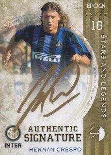 2016/17 EPOCH/AUTHENTICA INTER Signatures Hernán Crespo【17枚限定】/ MINT池袋店 スギ太郎様