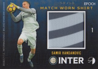 2016/17 EPOCH/AUTHENTICA INTER Match Worn Shirts Samir Handanovic 【50/50 Last NO.】/ MINT池袋店 スギ太郎様