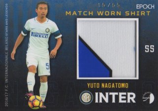 2016/17 EPOCH/AUTHENTICA INTER Match Worn Shirts Yuto Nagatomo 【55枚限定】/ MINT池袋店 スギ太郎様