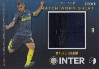 2016/17 EPOCH/AUTHENTICA INTER Shirts Mauro Icardi 【01/28 1st NO.】 / MINT池袋店 スギ太郎様