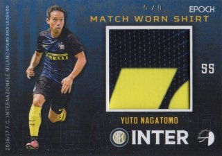 2016/17 EPOCH/AUTHENTICA INTER Match Worn Shirts Yuto Nagatomo 【9枚限定】/ MINT池袋店 スギ太郎様