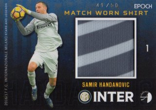 2016/17 EPOCH/AUTHENTICA INTER Match Worn Shirts Samir Handanovic 【50枚限定】/ MINT池袋店 スギ太郎様