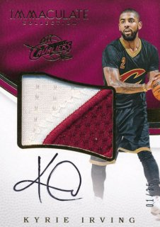 2016-17 PANINI IMMCULATE COLLECTION Patch Auto Kyrie Irving 【35枚限定】Rookie Star RS17様