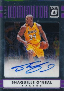 2016-17 PANINI DONRUSS OPTIC Auto Shaquille O'Neal 【25枚限定】Rookie Star RS18様