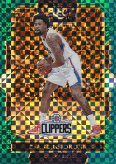 2016-17 PANINI SELECT Green Prizm Deandre Jordan 【5枚限定】Rookie Star RS25様