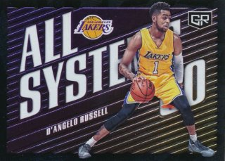 2016-17 PANINI GRAND RESERVE All Systems Go D'Angelo Russell Rookie Star RS54様